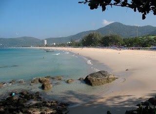 View of Karon Beach, 19th December 2008