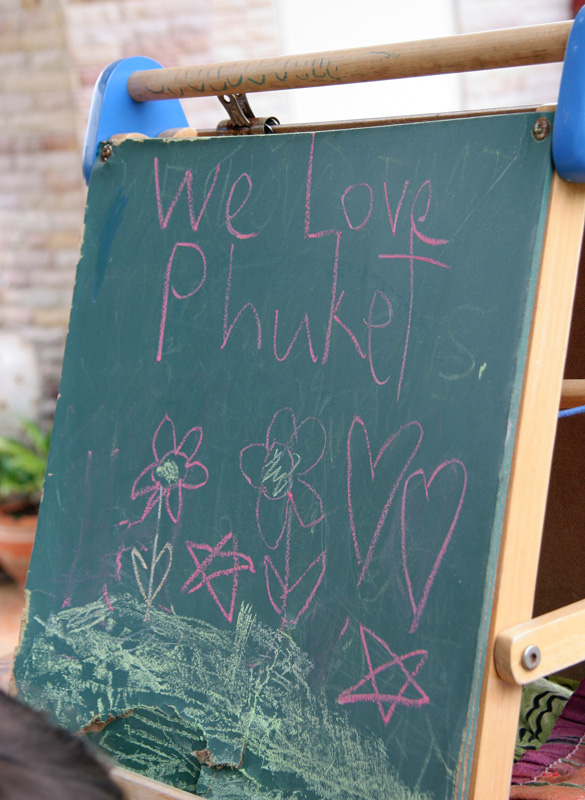 We Love Phuket, by my kids
