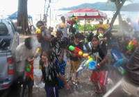 Songkran in Patong Beach - Image of our Friend Jamie Monk