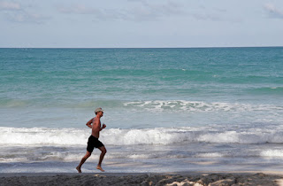 Runner on Kata Beach 7th June