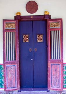 Door in old town