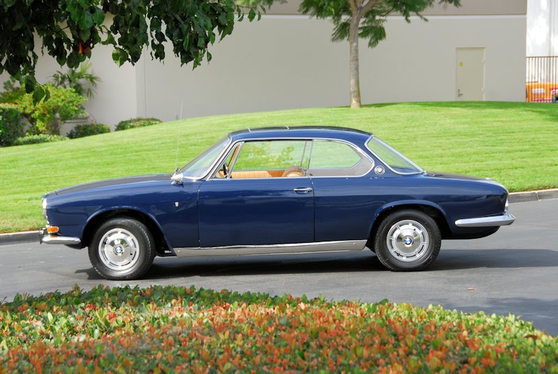 The Preppy Times: BMW 1965 3200 CS BERTONE COUPE