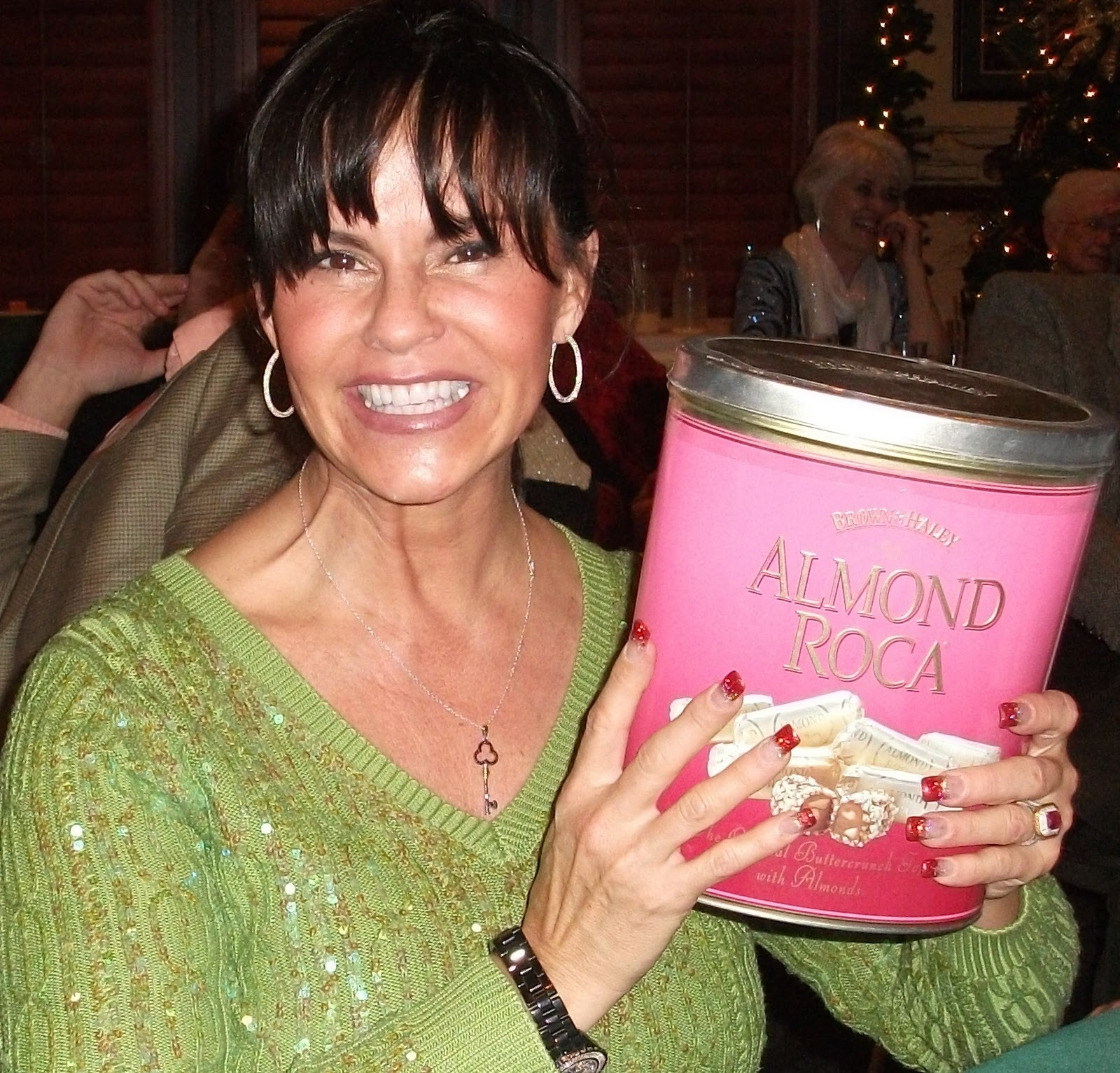 container of almond roca