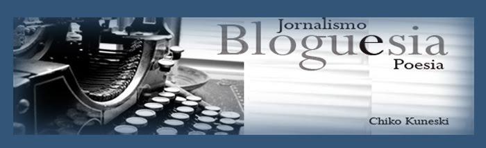 Bloguesia - poesia e jornalismo