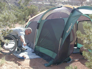 Full Review & Disability Product Reviews by Access Anything: Eurekau0027s Freedom Tent