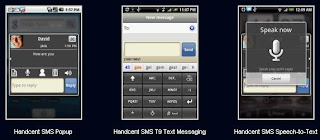 Handcent SMS iPhone Style