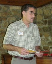 Richard Straw at the recent Haiku Holiday