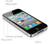 iPhone 4G external buttons