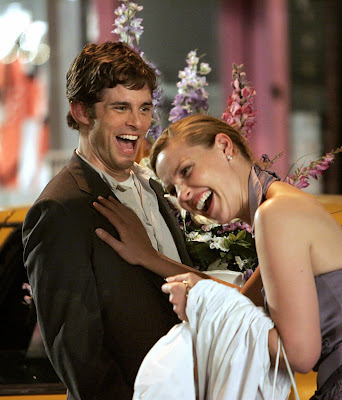 went to see 27 dresses on