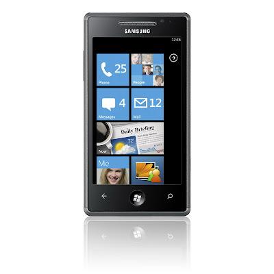 samsung omnia 7 windows phone 7