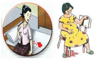 Tanda-tanda Bahaya Kehamilan - Perdarahan pervaginam
