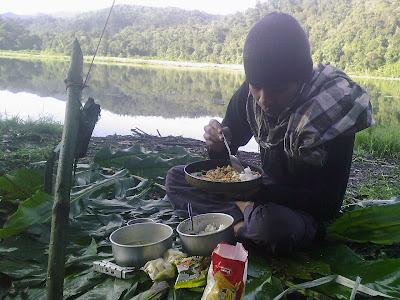 makan-Foto danau ciharus