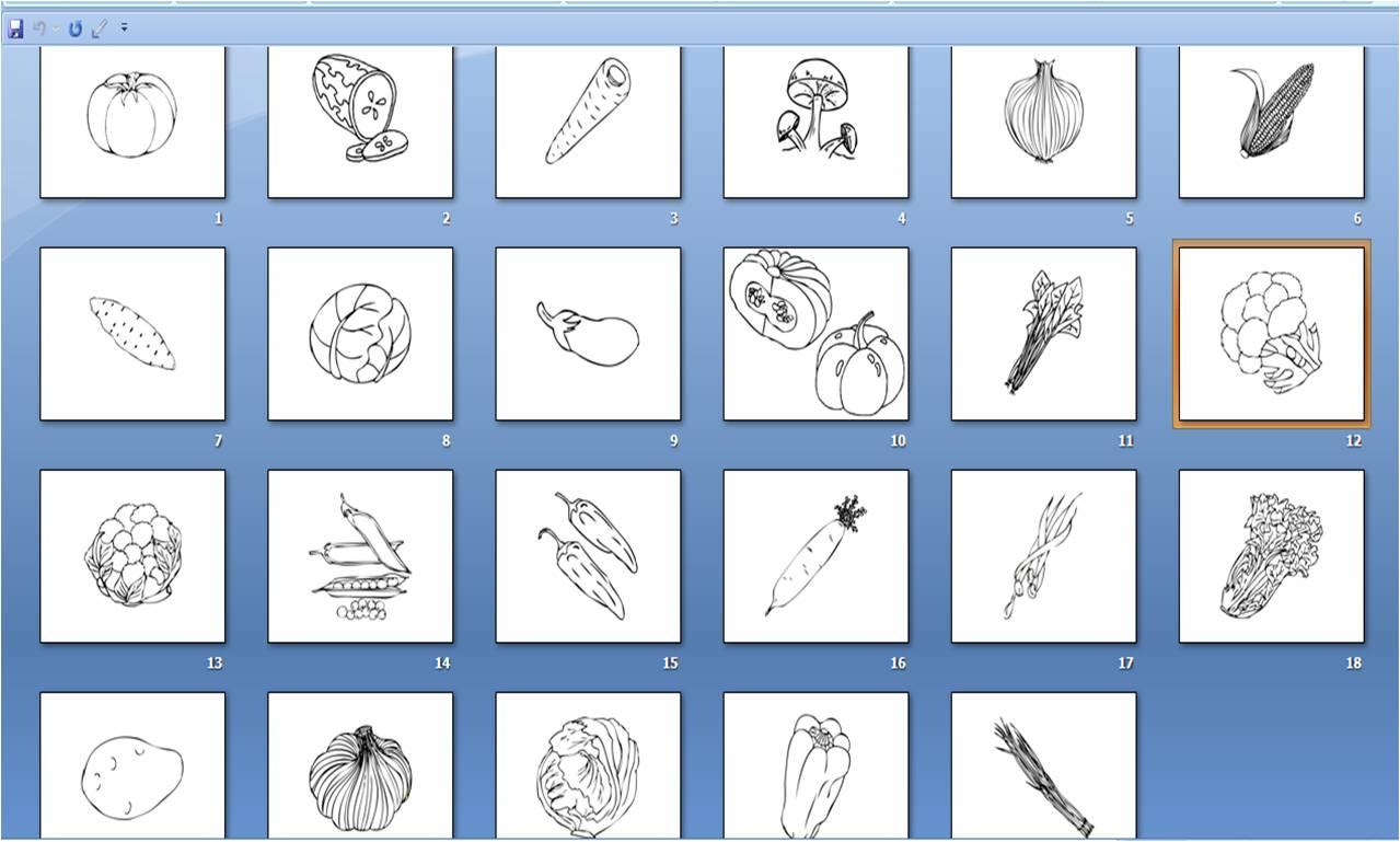 Jenis Sayur-Sayuran Bahasa Inggris