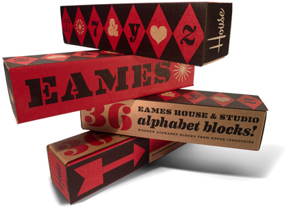 O blog de todas as coisas blocos de montar eames for House industries eames