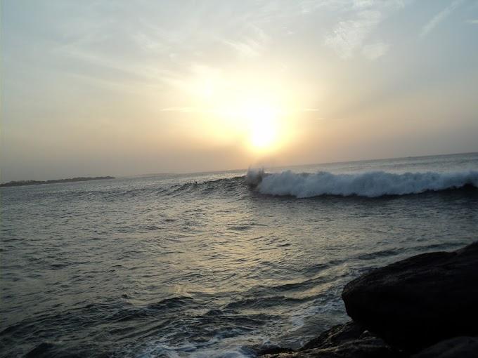 Hambantota fisher harbour- sunrise