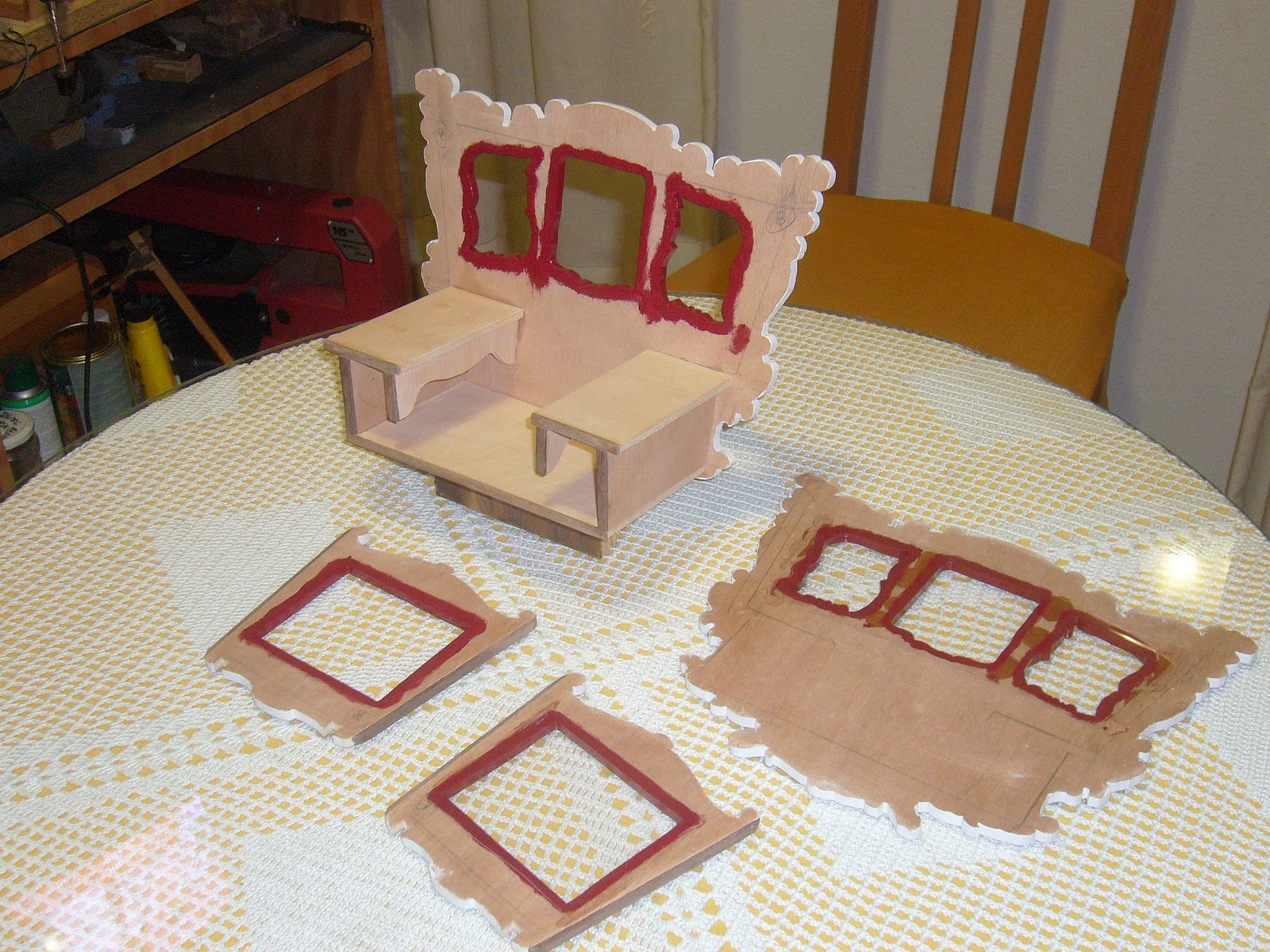 Mis trabajos con madera marqueteria - Casas de marqueteria ...