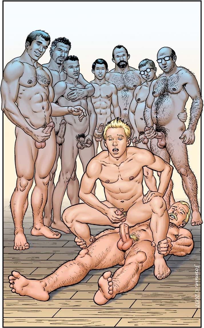 Erotic gay cartoon free images 523
