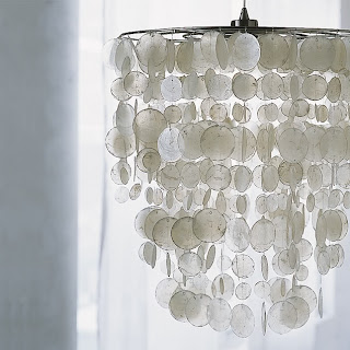 diy project: brenna's paper capiz shell chandelier | Design*Sponge