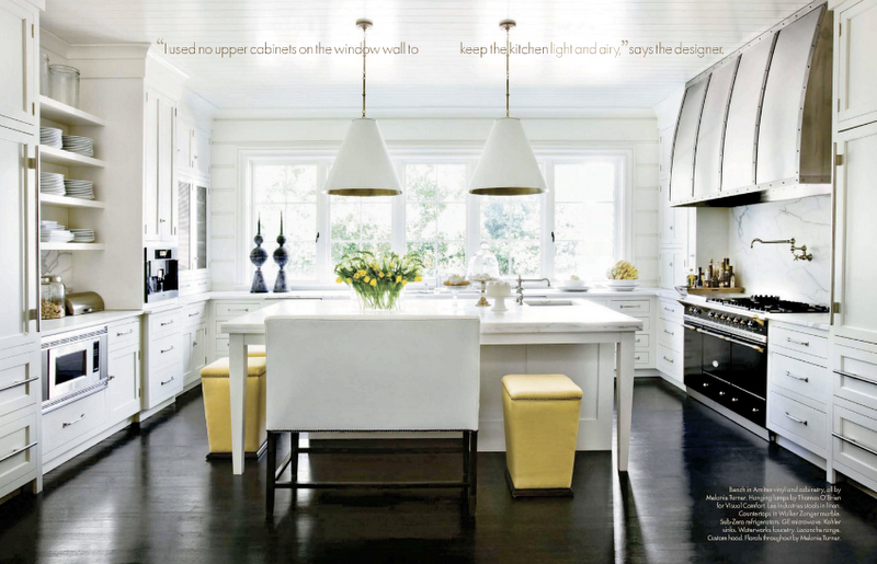 Ottomans At Kitchen Islands Stylish Or Silly Design