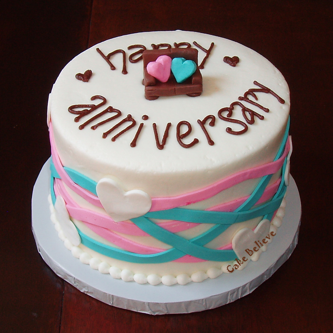 Cake Pics For Marriage Anniversary : Anniversary Cake heydanixo