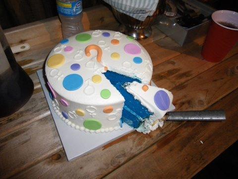 Торт с полом ребенка своими руками 56