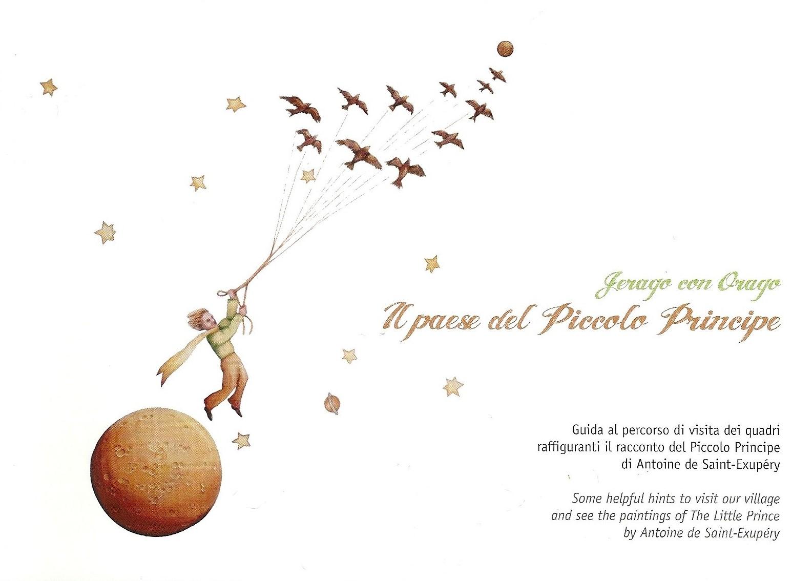 abbastanza Jasnapage: Il piccolo principe  tra le vie di Jerago con Orago PX97