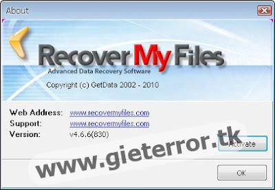 Download Recover My Files 4.66 Full +Crack : (14.57 MB) Password