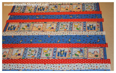 baby strip quilt tutorial