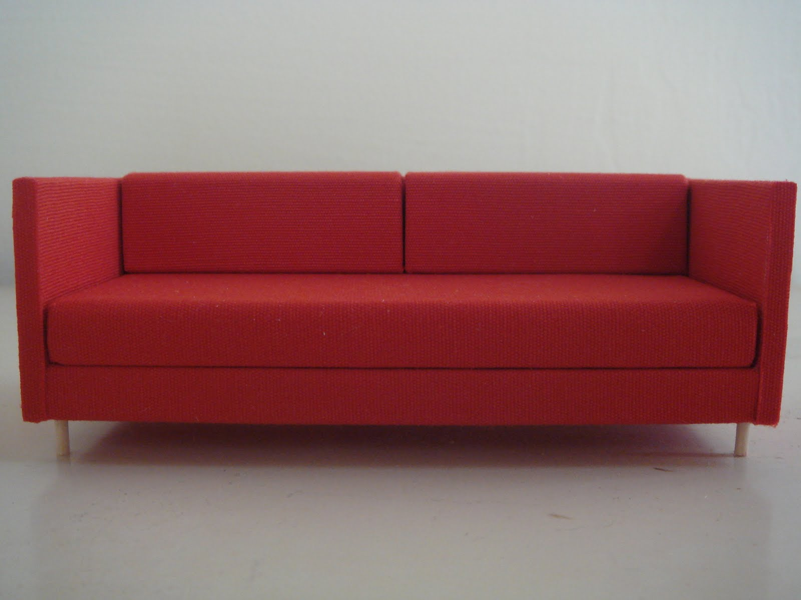 Red CouchesZahra 5piece Fabric Sofa Sectional By
