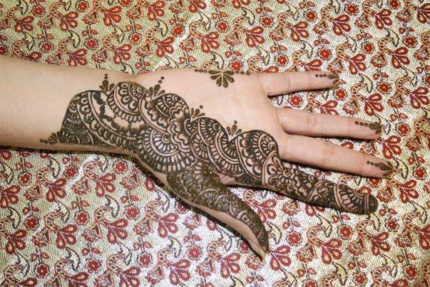 Mehndi Patterns Books : India mehndi patterns images book for hand dresses kids
