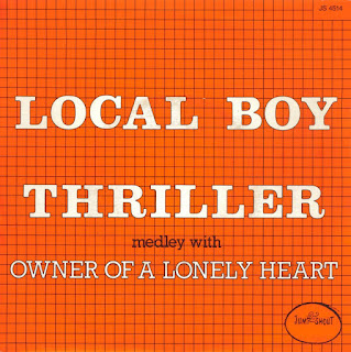 Local Boy Thriller Owner Of A Lonely Heart
