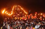 La procesión del fuego