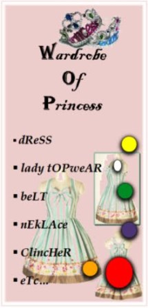 Wardrobe Of Princess