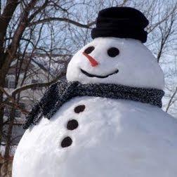 social media snowman