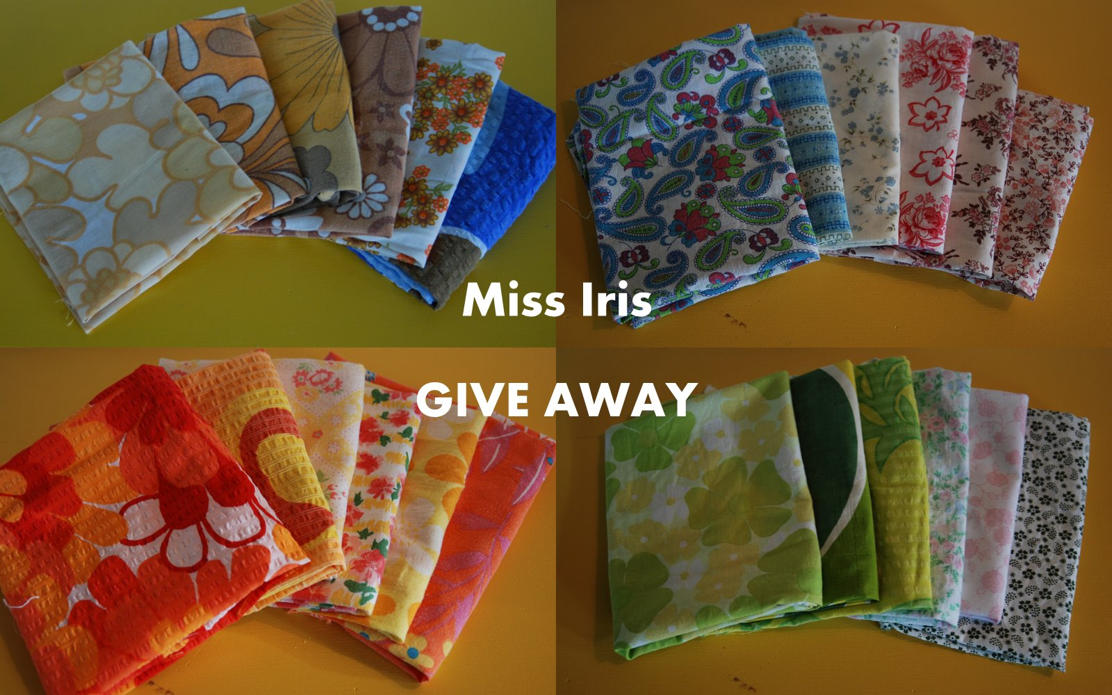 Give away fra Miss Iris