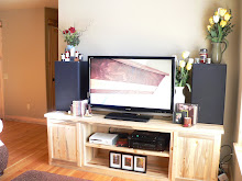 Our New TV & Cabinet