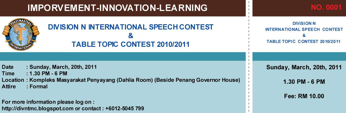 international informative speech topics