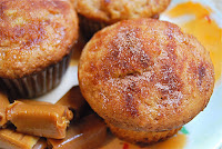 Cinnamon Sugar Caramel Muffins