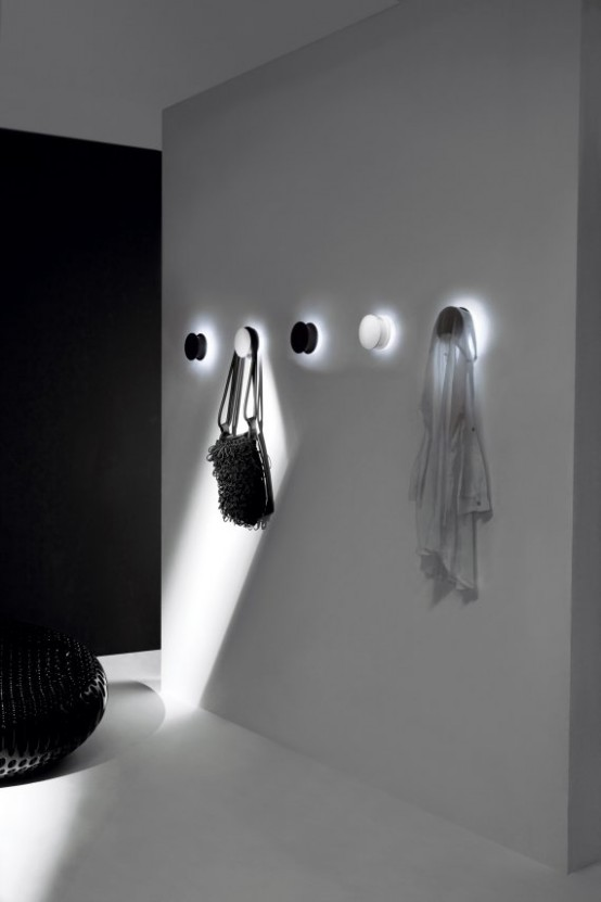 diana lin design llc alone coat wall hook led light. Black Bedroom Furniture Sets. Home Design Ideas