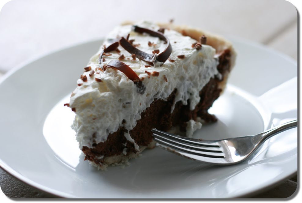 Cookie Sheets and Cake Pans: French Silk Pie