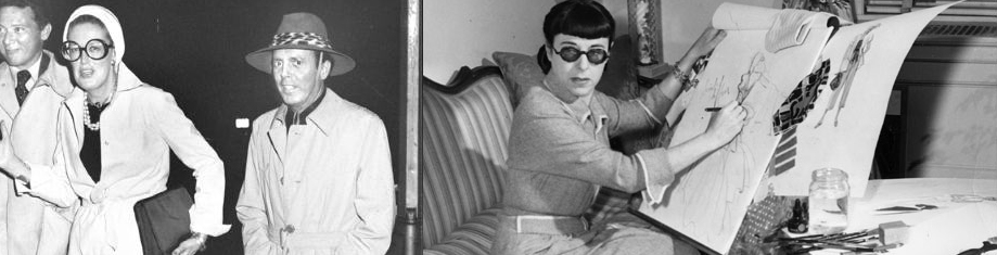 Carrie Donovan and Edith Head