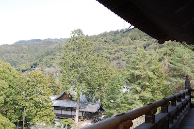 Overlooking the HIgashiyama