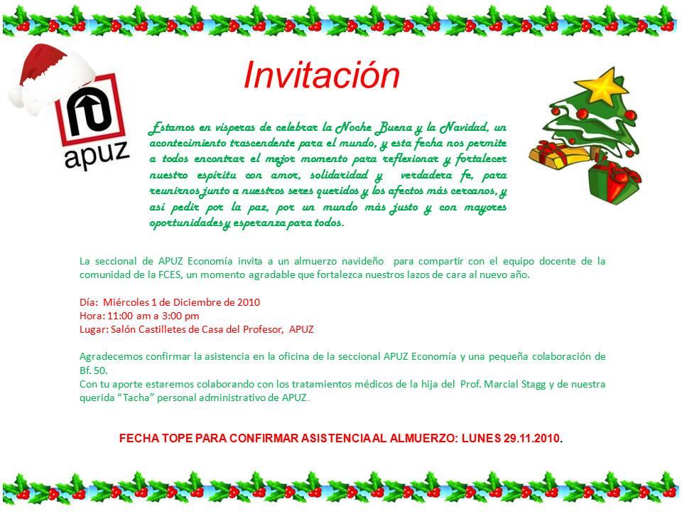 Apuz Fces Y Contexto Unive Almuerzo De Navidad Apuz Economia