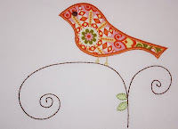 Applique Cafe (AC) Bird