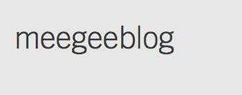 meegeeblog