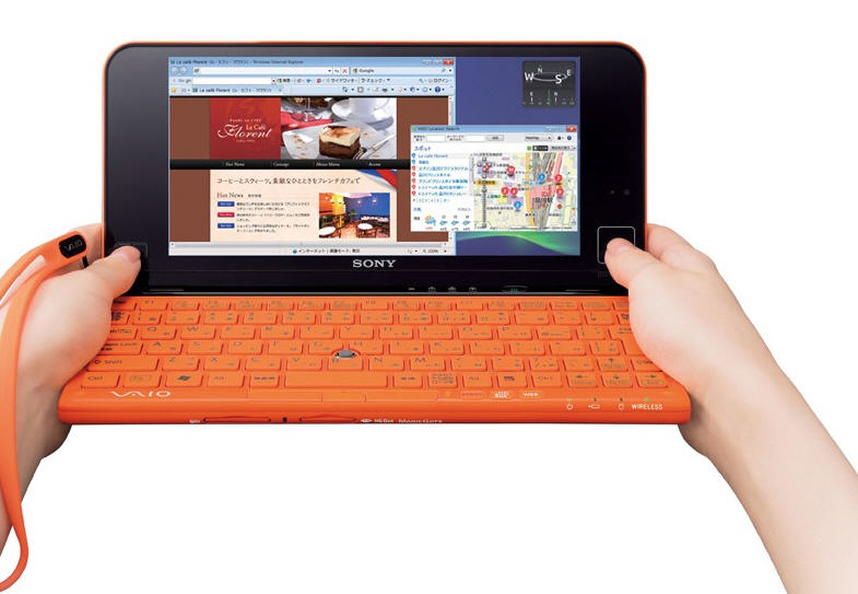 SONY VAIO P series-The world's lightest ultra-portable lifestyle pc.