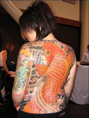 Koi fish tattoos are as