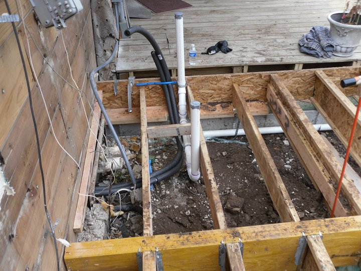 Will Rogers Plumbing Blog Sewer Rough In For Bathroom