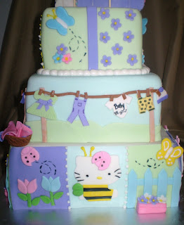 divine cakes by janice hello kitty baby shower cake