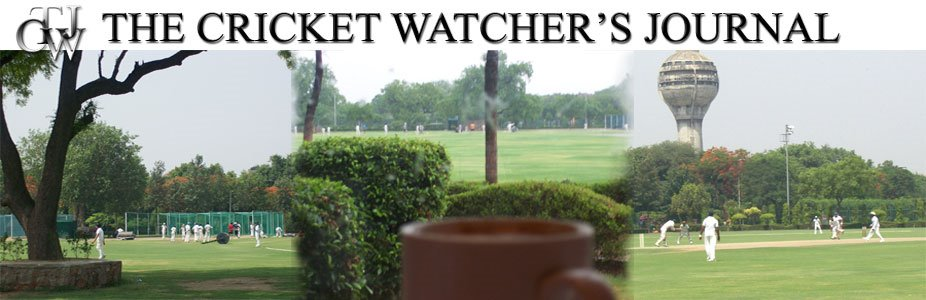 The Cricket Watcher&#39;s Journal